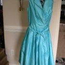 K Studio Turquoise Sleeveless Dress Size 12  $90.00 NEW