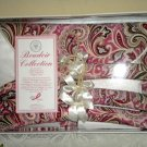 Boudoir Collection Satin Pillowcases Hangers Gift Set