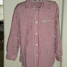 Gap Girl's Red Checked Blouse Shirt Top Size XL 12