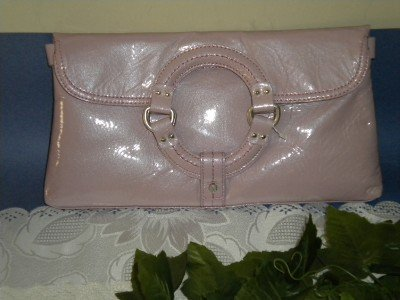 Sigrid Olsen Lavender Clutch Handbag Purse $128 NEW
