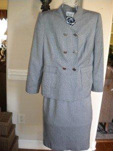 Le Suit Business Dress Skirt Suit Size 12 P 12P