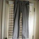 Chico's Women Green Khaki Pants Slacks  Size 0.5 = Sz 6