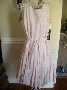 Jessica Howard Sleeveless Sun Pink Dress Size 14 NEW