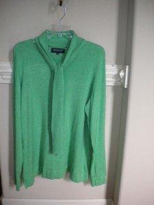 Jones New York Women Green Pullover Sweater Size 2X