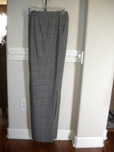 Ellen Tracy Women Plaid Pants Slacks Trousers Size 10