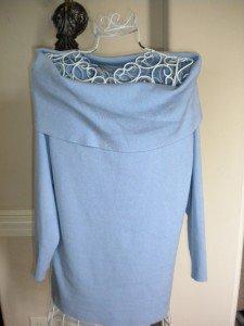 Ellen Tracy Women Ladies Blue Sweater Pullover Size L