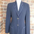 GIORGIO ARMANI Women 100% Pure New Wool Blazer Jacket Size 40 / 6 M Lined