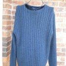 POLO RALPH LAUREN Men Heavy Blue cable Sweater Size XL Hong Kong