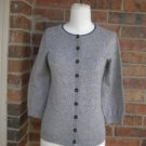 BODEN Cardigan Sweater Size UK 10 S Women Cotton Viscose Cashmere Angora Blend