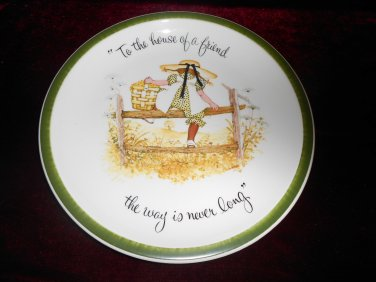 Holly Hobbie Collector's Edition Plate 1972 American Greeting Corp.