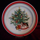 Hallmark 1989 Trees of Christmas Series NOSTALGIC CHRISTMAS Plate