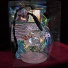 Oberfrankische Illuminated Glass Ornament Made Poland, Powered by Your Light Set