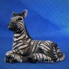 Small Zebra Figurine 1993 United Design Corp Noble OK