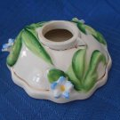 Vintage Small Collectable Ceramic Flat Candle Holder Made in Japan