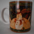 Susan Winget Snowman Mug With Cowboy Hat By Certified International