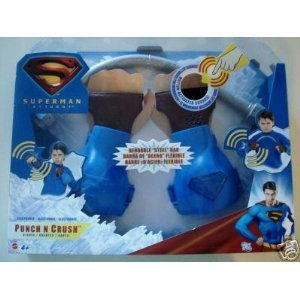 Punch and Crush Gloves Superman