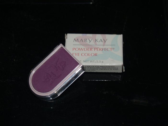 Mary Kay Powder Perfect Eye Color VIBRANT VIOLET - NIB Vintage