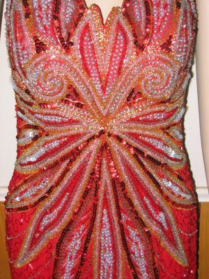 Ravishing Red Formal Gown - Halter or Strapless