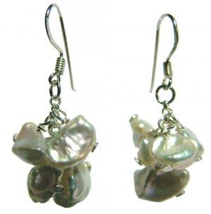 DJE139 Keshi Pearl Earrings