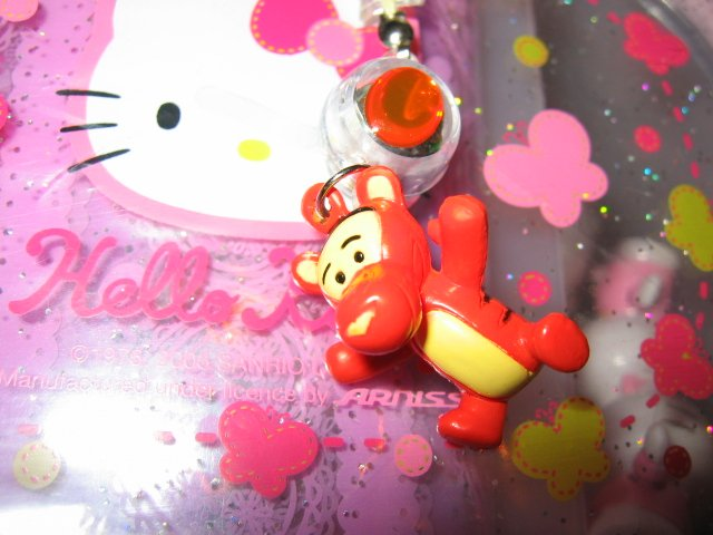 FLASHING CELL PHONE ACCESSORY-WINNIE THE POOH-TIGGER-SNOOPY WOODSTOCK-MICKEY MOUSE DONALD DUCK