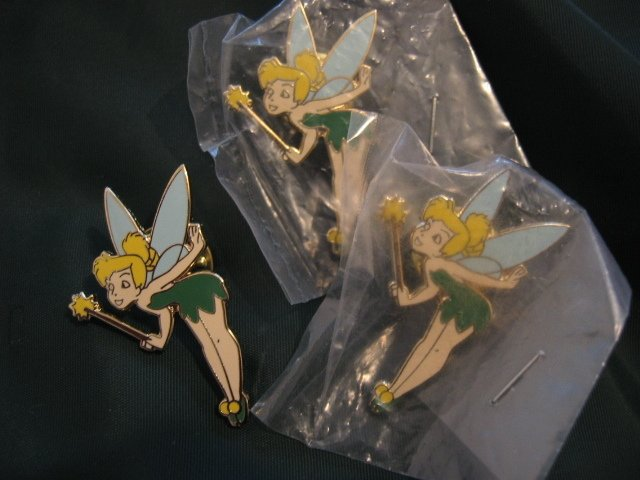 DISNEY'S TINKERBELL COLLECTIBLE PIN HOBBY ARTS CHARACTERS PETER PAN jewelry brooch