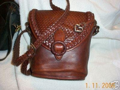 AUTHENTIC BRIGHTON BROWN LEATHER WOMEN'S BAG HANDBAG PURSE