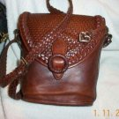 AUTHENTIC BRIGHTON BROWN LEATHER WOMEN'S BAG HANDBAG PURSE
