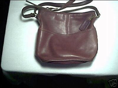 AUTHENTIC COACH RED VINTAGE WOMEN'S LEATHER BAG HANDBAG PURSE
