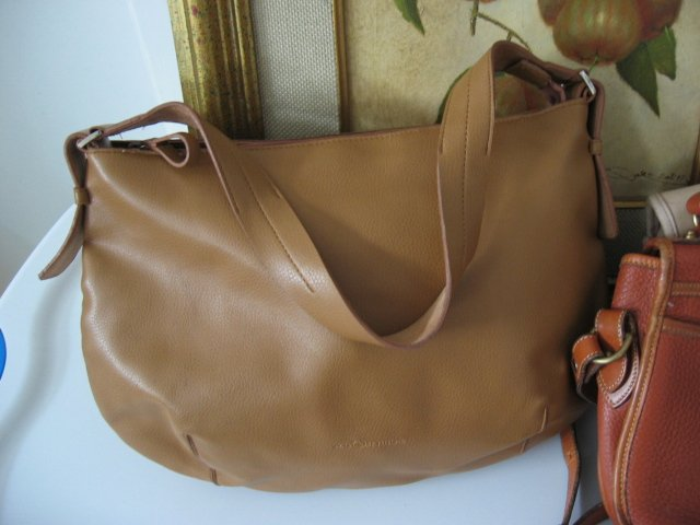 SAG HARBOR TAN BROWN SOHO HOBO CARRY ALL BAG DIAPER BAG WOMEN'S HANDBAG BAG PURSE