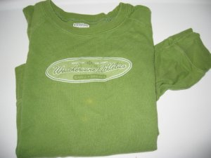 athletic sweater clothes weathervane green L junior