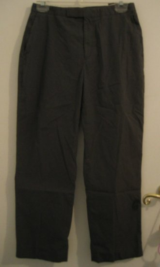 BANANA REPUBLIC MADE IN ITALY SZ 6 WOMEN'S MISSES CAPRI PANTS COTTON NYLON COOL GRAY