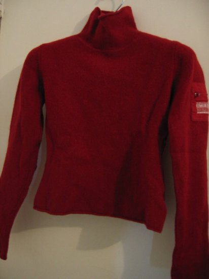 CLOTHES HOT RED WINTER SWEATER SO PRETTY britches wool red L girls
