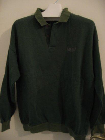 TOP CLOTHES SWEATER SWEATSHIRT LAS VEGAS reno green L men's