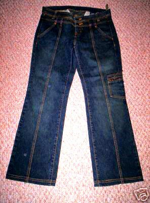 TRIPLE FIVE SOUL 555 RETRO 5 POCKET BOOTCUT JEANS 30 women's pants jeans clothes