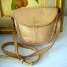 AUTHENTIC CREME TAN light brown COACH WOMEN'S PURSE BAG HANDBAG LEATHER
