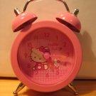 MINI HELLO KITTY CLOCK decorative collectible home decor kids room toy hobby accessory ALARM CLOCK
