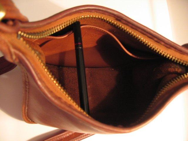 sold - AUTHENTIC JANICE LEGACY vintage BROWN leather - COACH WOMEN'S HANDBAG PURSE BAG