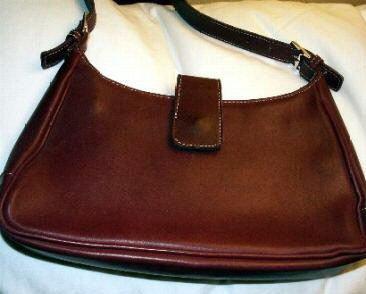AUTHENTIC RED COACH HOBO SOHO GENUINE SOFT LEATHER WOMEN'S BAG HANDBAG