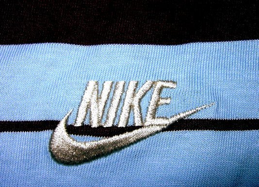 NIKE MEN'S GOLF STRIPE SHIRT TOP T-SHIRT BASKETBALL SPORTS MEN'S CLOTHES ATHLETIC PREPPY SZ L