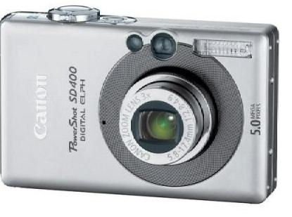 CANON POWERSHOT SD400 5.0MP DIGITAL ELPH CAMERA ixus photo electronic photography art