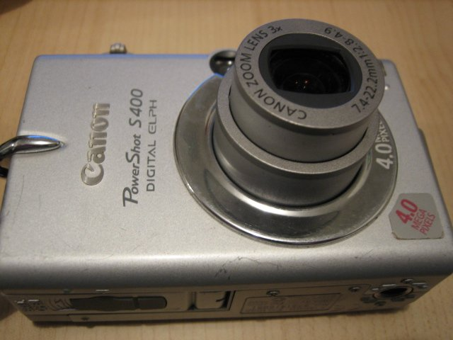 CANON DIGITAL CAMERA ELPH S400 powershot ixus photo electronic 4.0 MP #2