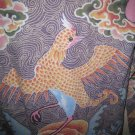 medium women's clothes black top shirt sweater PHOENIX BIRD TATTOO JAPANESE clothing thermal