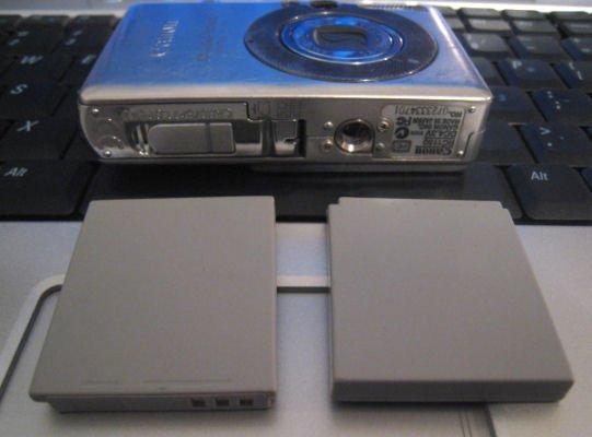 lot 2 NB-4L BATTERY CANON POWERSHOT Li-ion camera SD400 sd750 sd1000 sd600 digital elph electronics