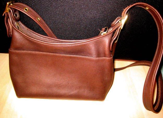 #2 AUTHENTIC COACH BROWN bucket JANICE LEGACY BAG PURSE HANDBAG GENUINE LEATHER WOMEN'S ACCESSORY