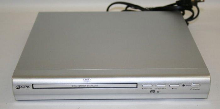 GPX DVD/CD/CDR/CDRW/JPEG dvd player electronics home movies entertainment progressive scan