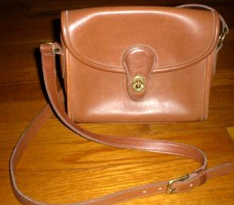 AUTHENTIC COACH BROWN vintage classic BAG PURSE HANDBAG GENUINE LEATHER WOMEN'S ACCESSORY