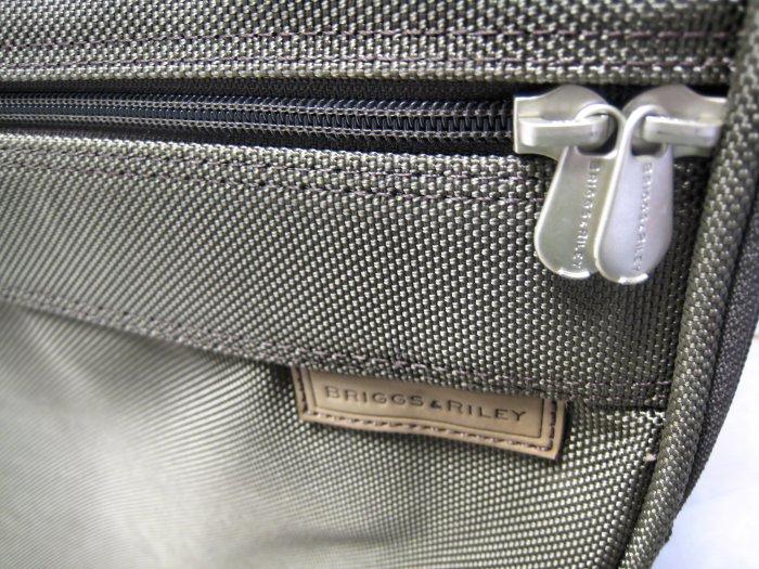 "BRIGGS & RILEY TRAVEL LUGGAGE suitcase 30"" ROLLER bag case stroll handle lk tumi samsonite"