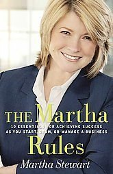 The Martha Rules Stewart HARDCOVER success management business essentials book home nonfiction