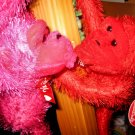 MONKEY STUFF ANIMAL COLLECTIBLES ANIMALS DOLLS GIFT FLOWERS PINK