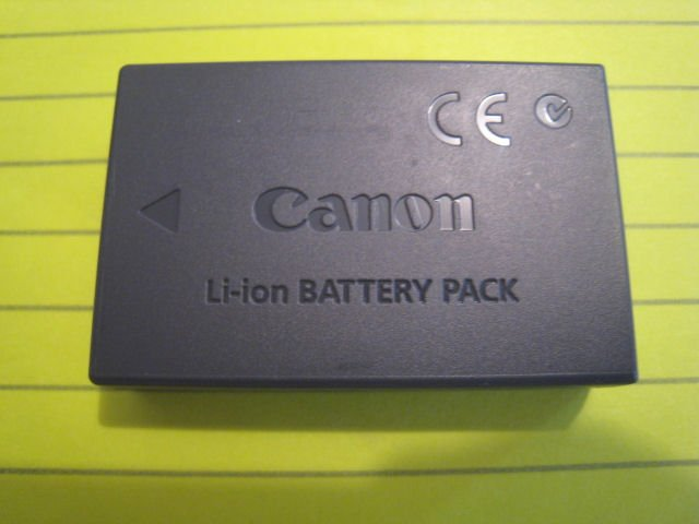 OEM ORIGINAL NB-1LH nb-1L LI-ION lithium BATTERY CANON S400 S500 digital CAMERA powershot elph ixus